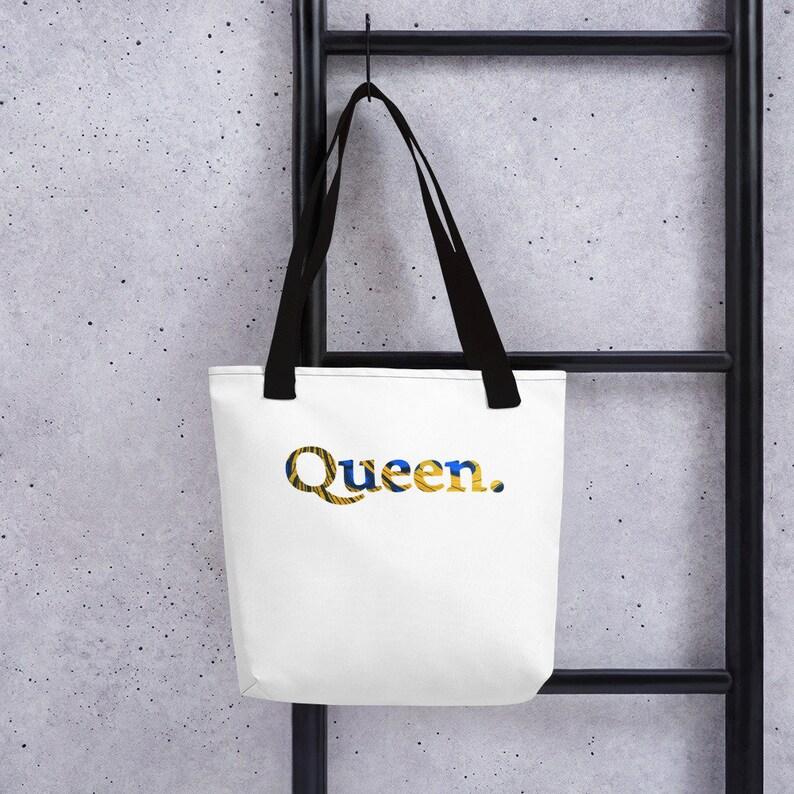 Queen African Print Tote bag