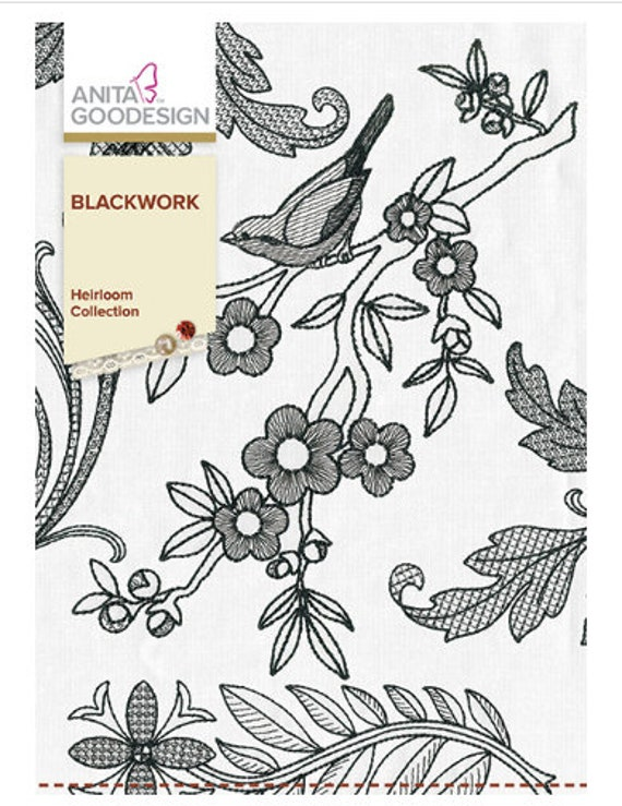 Anita Goodesign~  CANTERBURY COLLECTION  Machine Embroidery Designs USB Pes format