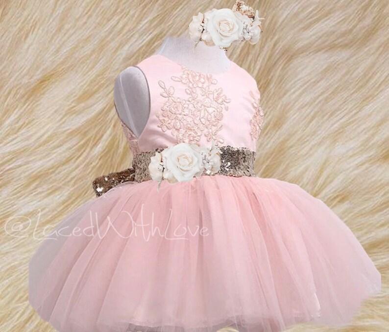 toddler tutu dress white lace flower girl dress blush tulle Blush Pink tulle flower girl dress rustic flower girl dresses