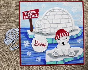 Marianne Design COLLECTABLES Cutting Dies Igloo /& Mountain COL1417-5pcs