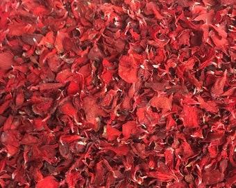 Dried Geranium Petals (Orange)