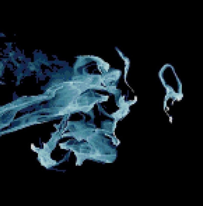 The Smoke Cross Stitch Pattern PDF