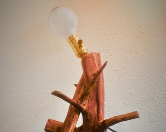 Lean on Me Table Lamp, Table Lamp, Bedside Lamp, Wood Table Lamp, Industrial Lamp, Industrial Lighting, Farmhouse Lighting, Vintage Lamp