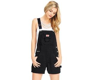 Funky Boilersuit Shortalls Women Vintage Jumpsuit Retro Dungaree shorts Shortall Short Dungarees Vintage Dungarees Vintage Overall