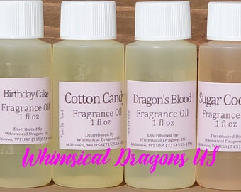 Premium Fragrance oil for Perfumes 3, Body Butters, Sugar Scrubs, Slime, Candles, Soap, Lotions 1oz