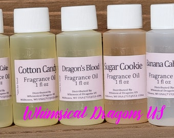 Premium Fragrance oil for Perfumes 2, Body Butters, Sugar Scrubs, Slime, Candles, Soap, Lotions 1oz