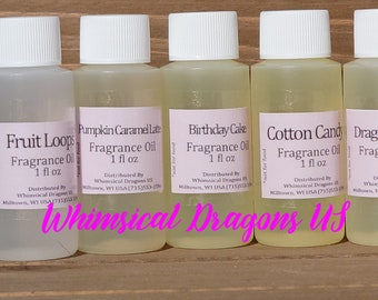 Premium Fragrance oil for Perfumes, Body Butters, Sugar Scrub fragrance, Slime,  Candle fragrance, Soap, Lotions 1oz, fragrance oils,