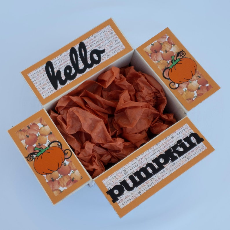 Care Package Decorative Kit/Fall care image 0