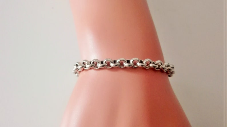 woman bracelet boho bracelet chain bracelet Silver heart bracelet bracelet for women