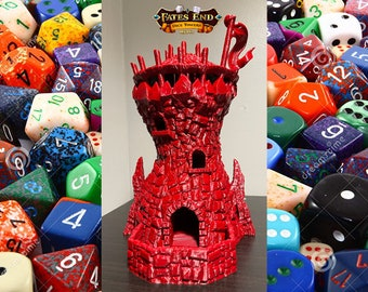 Fates End Goblin Tower Dice Tower 3D Print Dice Tower Dungeons and Dragons Dice Tower Dice Tray DnD Dice Tower DnD Dice Tray