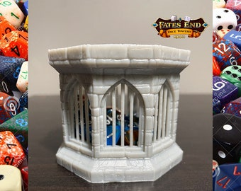 Resin Dice Jail Stone Dungeons And Dragons Dice Jail Fates End Dice Jail DnD Dice Jail DnD Accessories DnD Dice Cage RPG Supplies DnD Gift