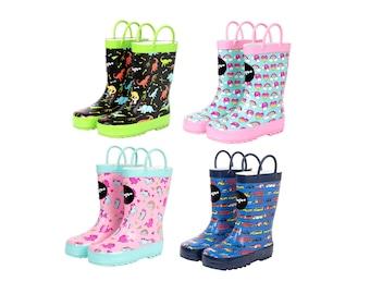 Fringoo - Children's Wellington Boots - Boys & Girls Wellies - Wellies for Kids - Kids Rain Boots UK size 6-11