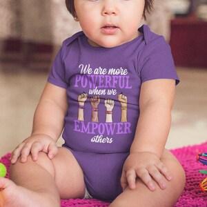 Feminist Shirt Feminism T Shirt Baby Girl Power Tee Kids Shower Birthday Gift Toddler Infant Bodysuit Boys Love To Respect Girls Quote