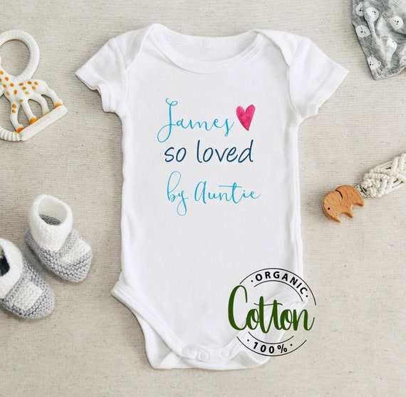 gift for aunt christmas gift baby gift baby bodysuit newborn gift for baby love Baby newborn gift NAME newborn baby baby shower