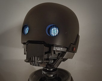 Spacebobs Security Droid Inspired Head/Stand Printable Fan Art Files.