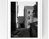 The Warehouse, Preston, Large Wall Art Print, Nightclub, Lancashire, Black and White, Monochrome,