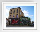 The Ferret, Large Wall Art Print, Print, Colour, Preston, Prestonian, Ferret,