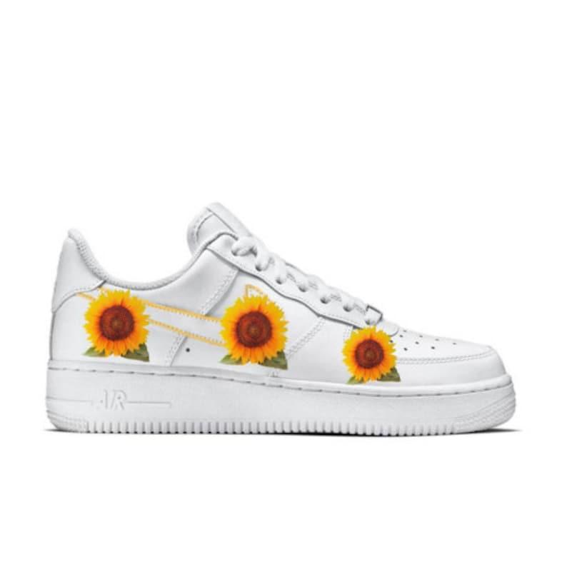 Sunflower Custom Nike Air force 1 AF1 | Etsy