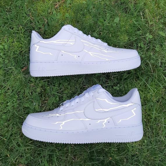 Reflective Lightning Custom Nike Air