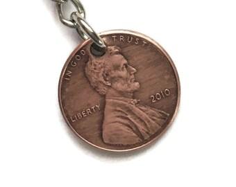1959-2008 Handmade Lucky Penny Keychain