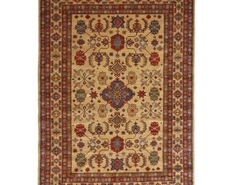 "Turkish Oushak Rug,Anatolian Carpet,Turkish Rug,Tribal Rug Large,Anatolian Rug,Bohemian Rug,Old Carpet,Faded Old Rug Vintage 8'0"" x 6'6""ft"