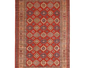 Area Rug, Turkish Rug, Vintage Rug, 6'6 x 9'6 feet, Oushak Rug, Antique Rug, Oriental Rug, Handmade Rug, Decorative Rug,Faded Rug,Old Rug