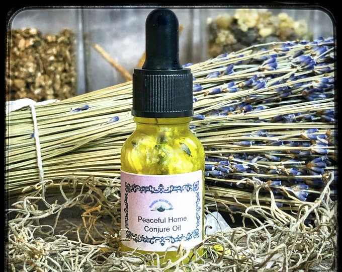 Peaceful Home Conjure Oil- Bring Peace and Tranquillity Into Your Home