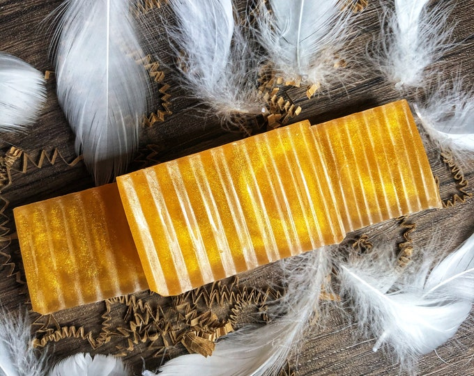 Archangel Protection Ritual Bath Soap- Honey Infused Coconut Oil Soap