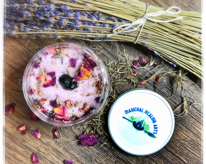 Empath Protection Ritual Bath Salts- Wash Away Negative Energies! Build Strong Protection Against Energy Vampires! Heal & Protect