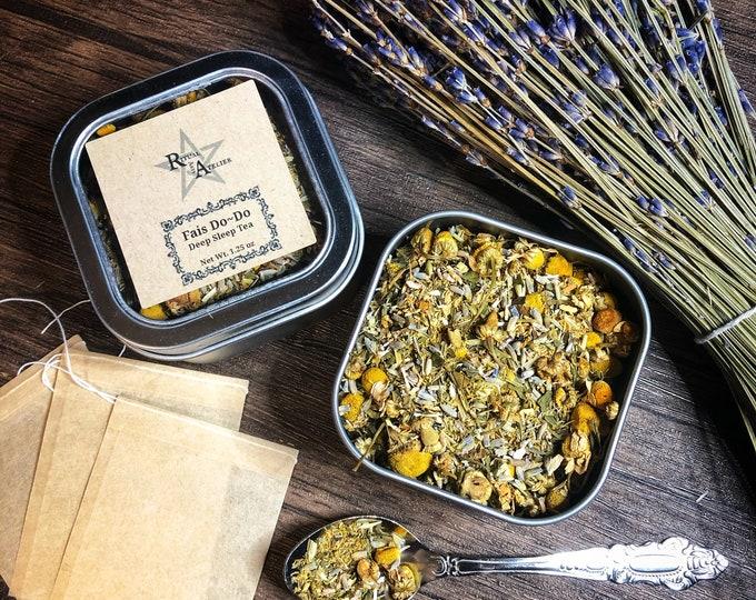 Fais Do-Do Sleep Herbal Tea- 4 oz Caffeine Free, Organic, Loose Tea