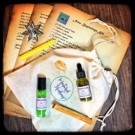 New Beginnings Empowerment Kit- Guided Meditation & Tools  For Transformation, Relieving Anxiety, and Easing Transitions