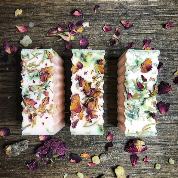 Empath Protection Ritual Bath Soap- Available in Goat Milk & NEW Vegan Shea Butter Soap Bars- Wash Negative Energy Away