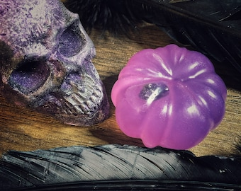 Amethyst Infused Samhain Soaps- Lightly Scented- LIMITED QUANTITIES- Halloween/Samhain