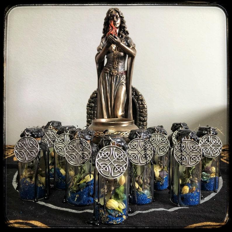 Goddess Brigid Healing Witch Bottle Bring Healing Hope & image 0