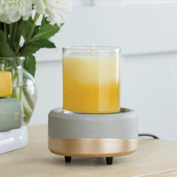 2 in 1 Wax Melt Warmer | Wax Bar Melter | Candle Warmer