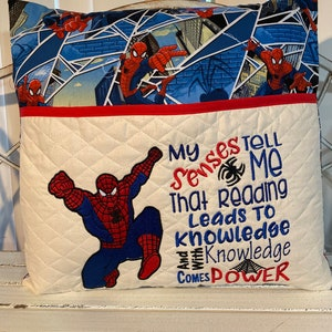 Superhero pillow cover cartoon creative