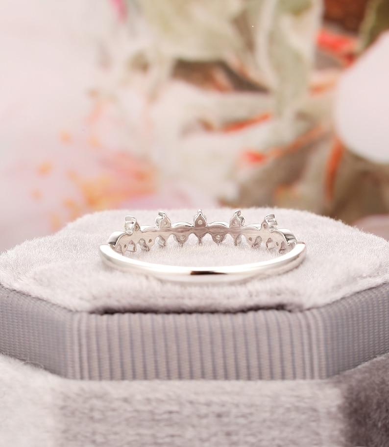 18k Gold Diamond RingReal Diamond Wedding RingStack RingUnique Moissanite Thin Gold Ring14k Gold Filled RingSimple Gold RingStack Ring