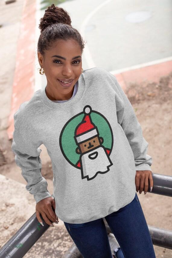 LightCa Womens Santa Claus Pullover Sweatshirts