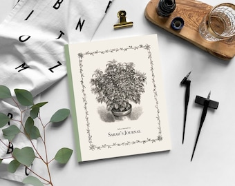 Shirley Hibberd, father of Amateur Gardening: Personalised Journal, Yellow-berried Ivy