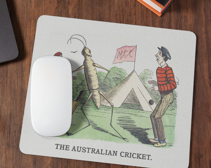 The Australian cricket, cute and funny Mousepad
