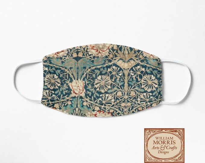 William Morris: Honeysuckle, Face Mask