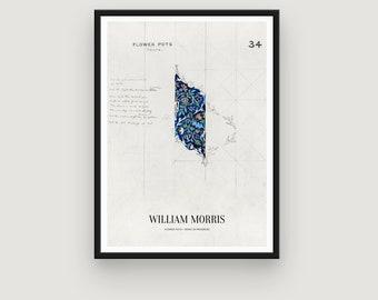William Morris: Flower Pots, Work in Progress