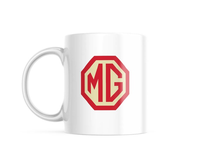 Customized Coffee Mug for Vintage Car Lovers, MG Edition