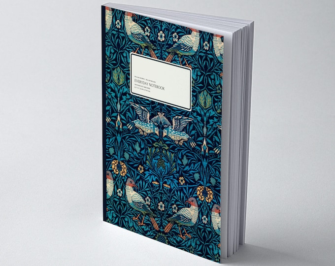 William Morris: Birds, Everyday Dot Grid Notebook