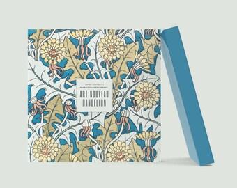 Art Nouveau Danelion: Visionary Maurice Pillard Verneuil Blank Notebook