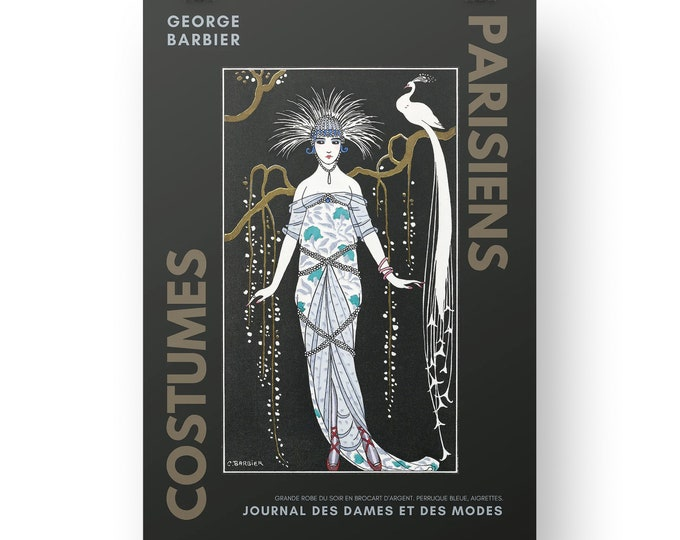 Costumes Parisiens, Grande robe du soir, Wall Deco