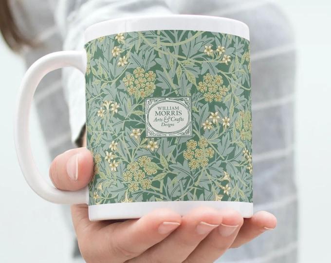William Morris: Green Jasmine, Coffee Mug