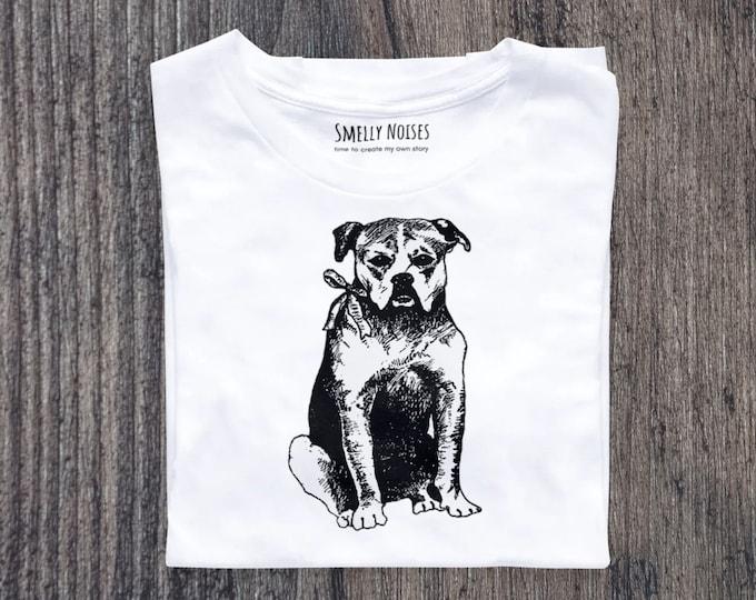 Vintage European style dog, Short-Sleeve Unisex T-Shirt