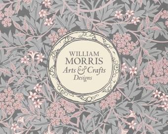 William Morris: Pink Jasmine, Coasters (Set of 4)