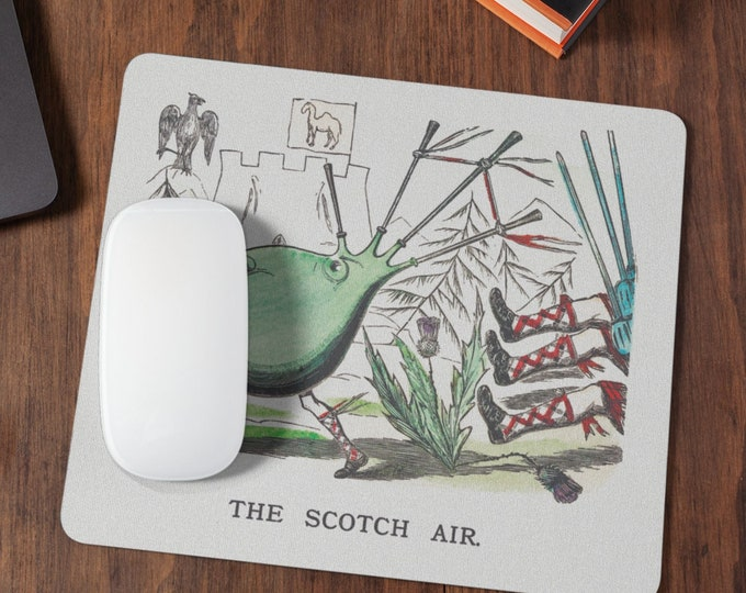 The Scotch air, cute and funny Mousepad